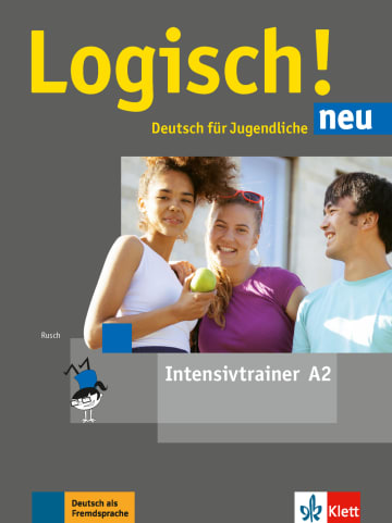 Cover Logisch! neu A2 978-3-12-605218-4 Deutsch als Fremdsprache (DaF),Deutsch als Zweitsprache (DaZ)