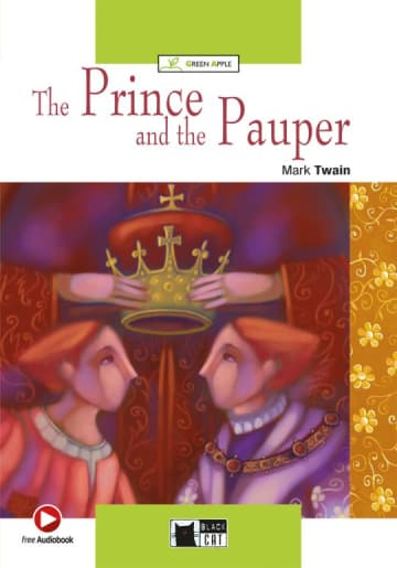 Cover The Prince and the Pauper 978-3-12-500081-0 Mark Twain Englisch
