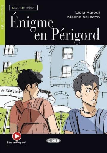 Cover Énigme en Périgord 978-3-12-500277-7 Lidia Parodi, Marina Vallacco Französisch