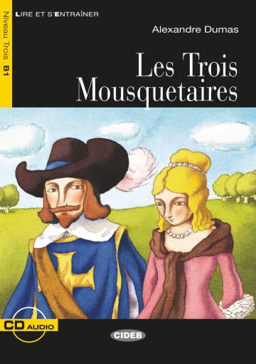Cover Les Trois Mousquetaires 978-3-12-500263-0 Alexandre Dumas Französisch