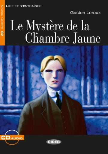 Cover Le Mystère de la chambre jaune 978-3-12-500280-7 Gaston Leroux Französisch