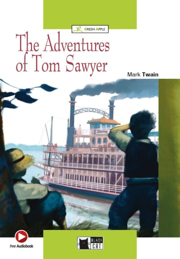 Cover The Adventures of Tom Sawyer 978-3-12-500057-5 Mark Twain Englisch