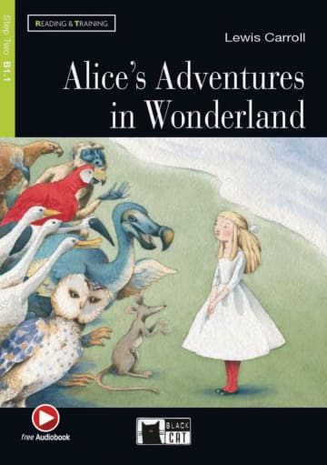 Cover Alice's Adventures in Wonderland 978-3-12-500092-6 Lewis Carroll Englisch