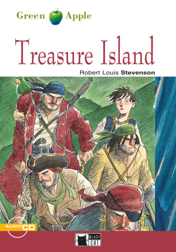 Cover Treasure Island 978-3-12-500058-2 Robert Louis Stevenson Englisch