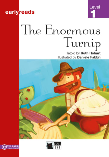 Cover The Enormous Turnip 978-3-12-500022-3 Ruth Hobart Englisch