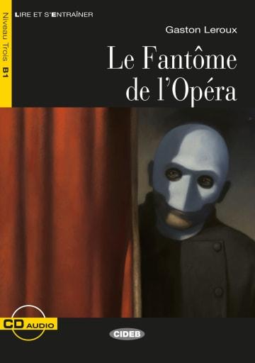 Cover Le Fantôme de l'Opéra 978-3-12-500261-6 Gaston Leroux Französisch