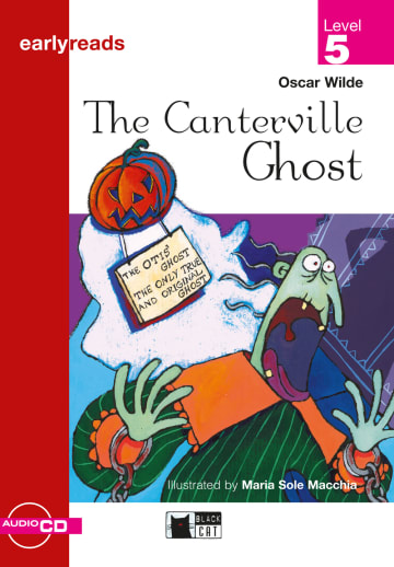 Cover The Canterville Ghost 978-3-12-500156-5 Oscar Wilde Englisch