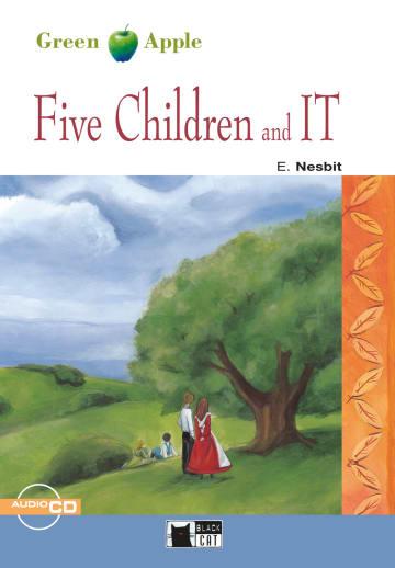 Cover Five Children and It 978-3-12-500017-9 Edith Nesbit Englisch