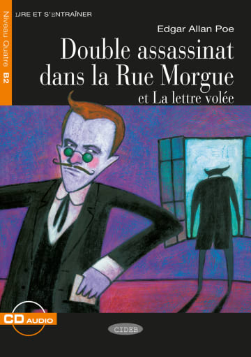 Cover Double assassinat dans la Rue Morgue et La lettre volée 978-3-12-500291-3 Edgar Allan Poe Französisch
