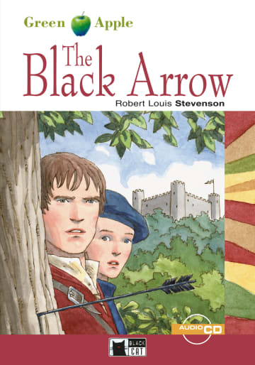 Cover The Black Arrow 978-3-12-500091-9 Robert Louis Stevenson Englisch