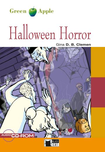 Cover Halloween Horror 978-3-12-500009-4 Gina D. B. Clemen Englisch