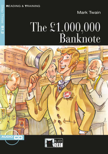 Cover The £ 1,000,000 Banknote 978-3-12-500169-5 Mark Twain Englisch