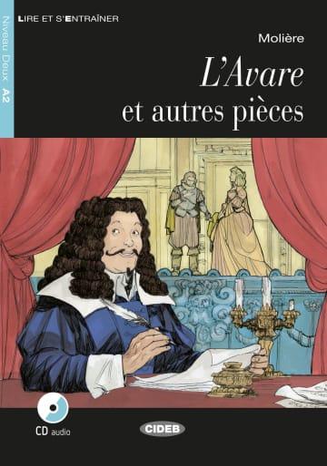 Cover L'Avare et autres pièces 978-3-12-500251-7 Molière Französisch