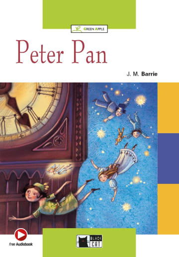 Cover Peter Pan 978-3-12-500006-3 J.M. Barrie Englisch