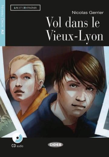 Cover Vol dans le Vieux-Lyon 978-3-12-500289-0 Nicolas Gerrier Französisch