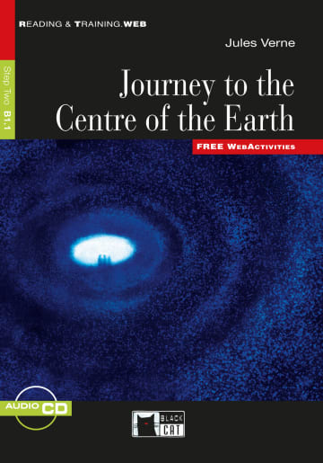 Cover Journey to the Centre of the Earth 978-3-12-500085-8 Jules Verne Englisch