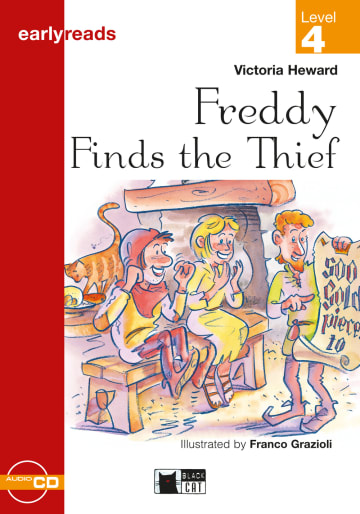 Cover Freddy Finds the Thief 978-3-12-500024-7 Victoria Heward Englisch