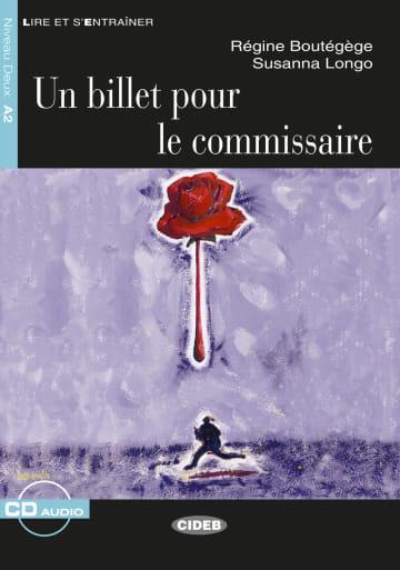Cover Un billet pour le commissaire 978-3-12-500276-0 Régine Boutégège, Susanna Longo Französisch