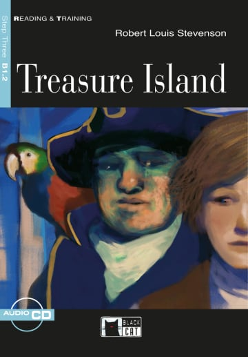 Cover Treasure Island 978-3-12-500171-8 Robert Louis Stevenson Englisch
