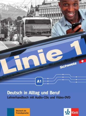 Cover Linie 1 Schweiz A1 978-3-12-607026-3 Deutsch als Fremdsprache (DaF),Deutsch als Zweitsprache (DaZ)