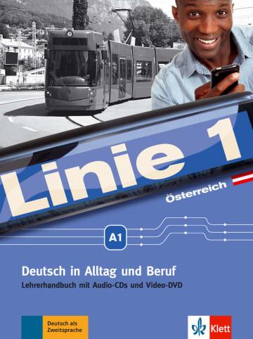 Cover Linie 1 Österreich A1 978-3-12-607067-6 Deutsch als Zweitsprache (DaZ)