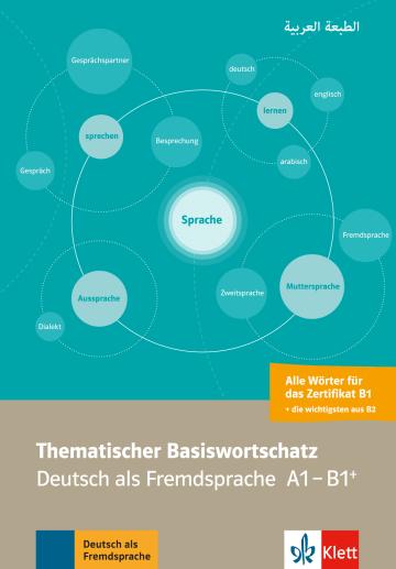 Cover Thematischer Basiswortschatz Arabisch 978-3-12-519504-2 Deutsch als Fremdsprache (DaF),Deutsch als Zweitsprache (DaZ)