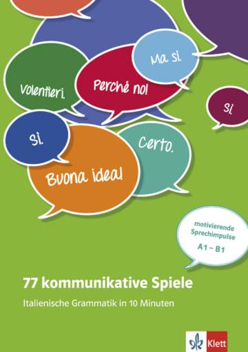 Cover 77 kommunikative Spiele 978-3-12-525848-8 Italienisch
