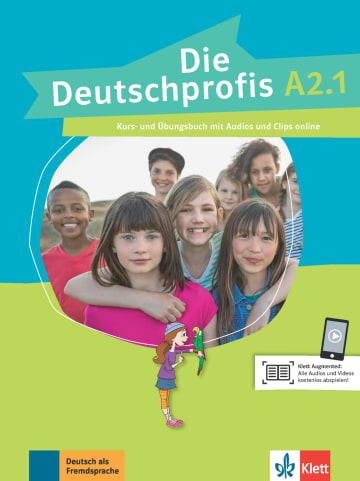 Cover Die Deutschprofis A2.1 978-3-12-676500-8 Deutsch als Fremdsprache (DaF)
