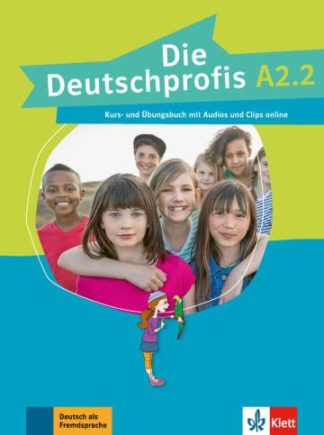 Cover Die Deutschprofis A2.2 978-3-12-676501-5 Deutsch als Fremdsprache (DaF)