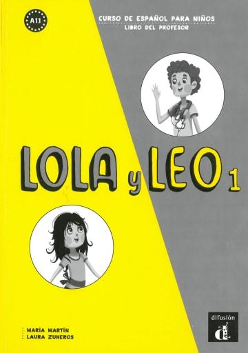 Cover Lola y Leo 1 978-3-12-525672-9 Spanisch
