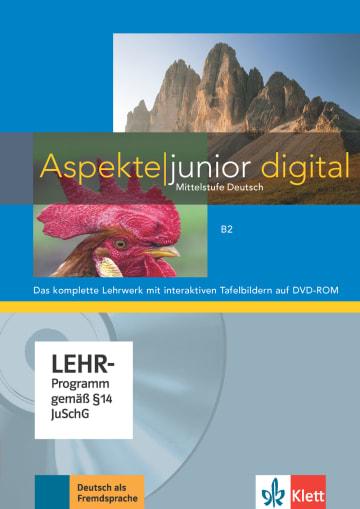 Cover Aspekte junior B2 978-3-12-605263-4 Deutsch als Fremdsprache (DaF),Deutsch als Zweitsprache (DaZ)