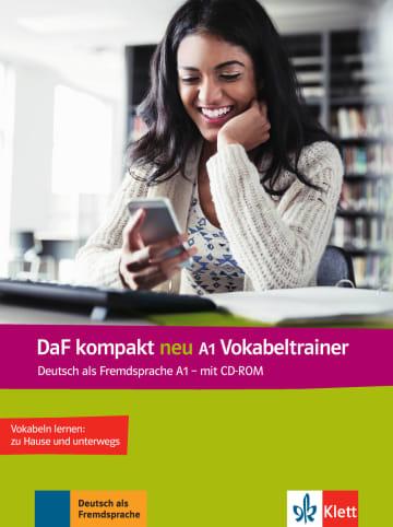 Cover DaF kompakt neu A1 Vokabeltrainer 978-3-12-676320-2 Deutsch als Fremdsprache (DaF)