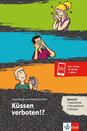 Cover Küssen verboten!? 978-3-12-688072-5 Irene Margil, Andreas Schlüter Deutsch als Zweitsprache (DaZ)
