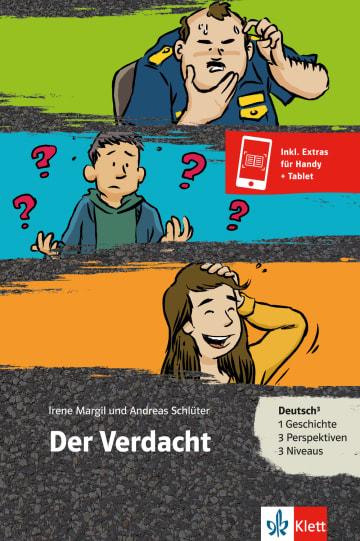 Cover Der Verdacht 978-3-12-688073-2 Irene Margil, Andreas Schlüter Deutsch als Zweitsprache (DaZ)