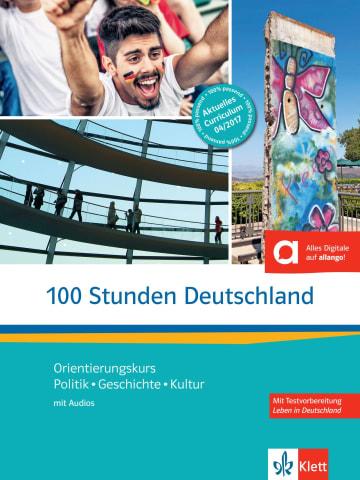 Cover 100 Stunden Deutschland 978-3-12-675229-9 Deutsch als Fremdsprache (DaF)