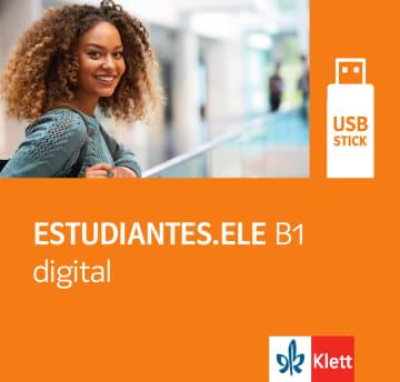 Cover Estudiantes.ELE B1 digital 978-3-12-515087-4 Spanisch