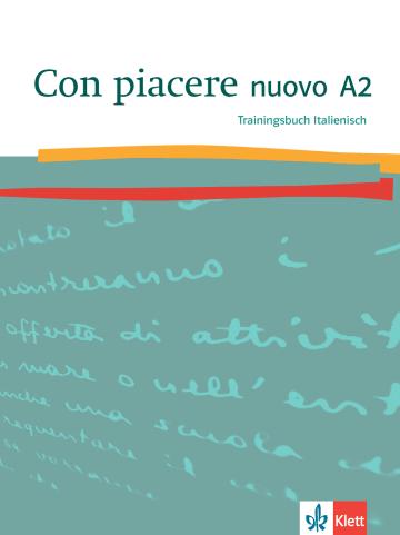 Cover Con piacere nuovo A2 978-3-12-525208-0 Italienisch