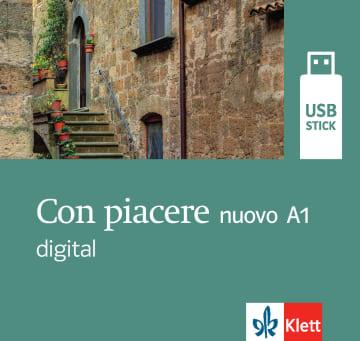 Cover Con piacere nuovo A1 digital 978-3-12-525205-9 Italienisch