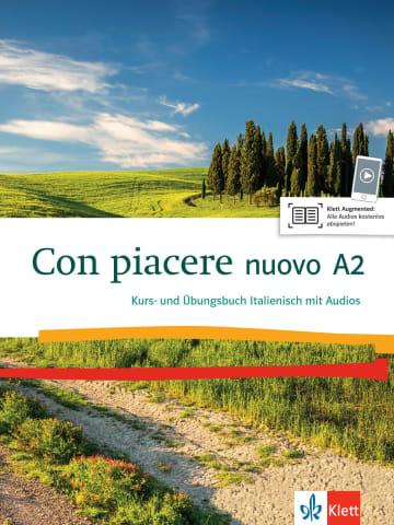 Cover Con piacere nuovo A2 978-3-12-525206-6 Italienisch