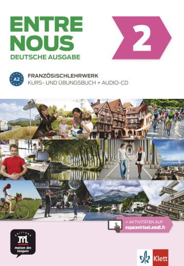 Cover Entre nous A2 978-3-12-530280-8 Französisch