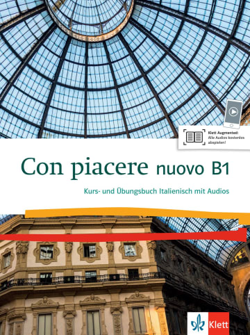 Cover Con piacere nuovo B1 978-3-12-525212-7 Italienisch