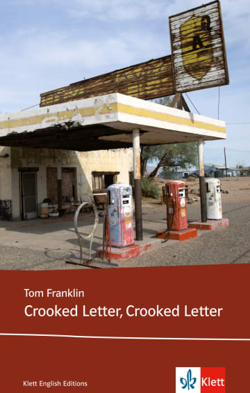 Cover Crooked Letter, Crooked Letter 978-3-12-579900-4 Tom Franklin Englisch