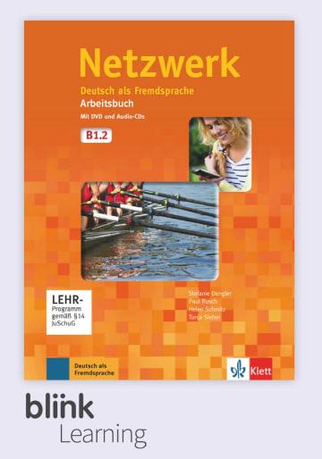 Cover Netzwerk B1.2 - Digitale Ausgabe mit LMS NP01160500502 Deutsch als Fremdsprache (DaF)