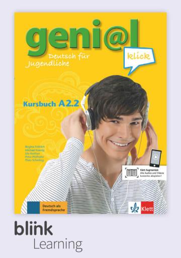 Cover geni@l klick A2.2, versión digital NP01160527601 Deutsch als Fremdsprache (DaF),Deutsch als Zweitsprache (DaZ)
