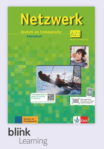 Cover Netzwerk A2.1, versión digital NP01160614202 Deutsch als Fremdsprache (DaF)