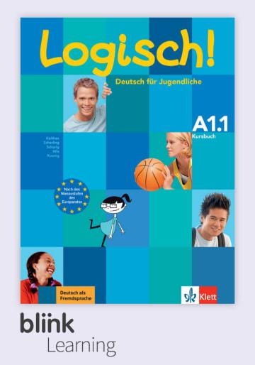Cover Logisch! A1.1, versión digital NP01160517101 Deutsch als Fremdsprache (DaF),Deutsch als Zweitsprache (DaZ)