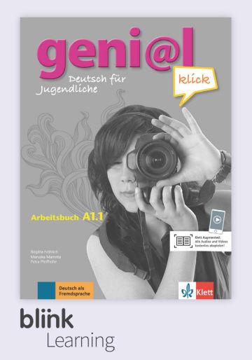 Cover geni@l klick A1.1 - Digitale Ausgabe mit LMS NP01160527101 Deutsch als Fremdsprache (DaF),Deutsch als Zweitsprache (DaZ)