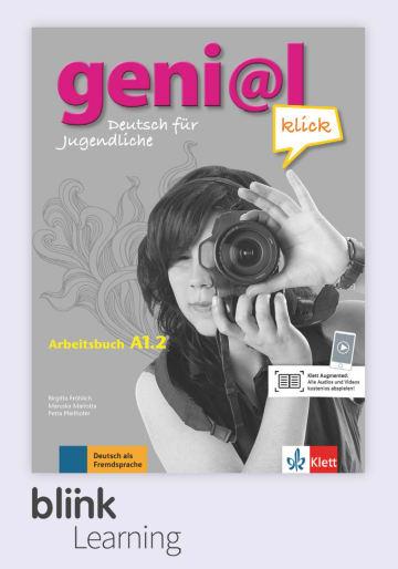Cover geni@l klick A1.2, versión digital NP01160527301 Deutsch als Fremdsprache (DaF),Deutsch als Zweitsprache (DaZ)