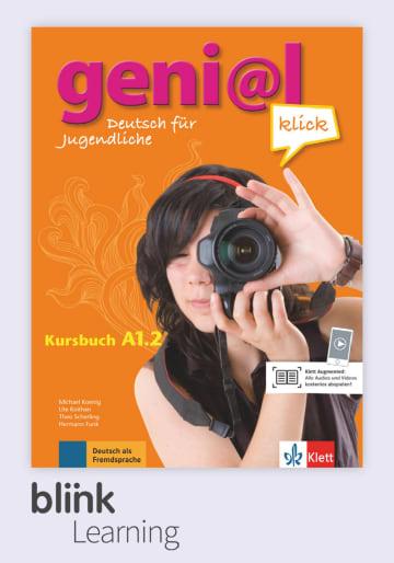 Cover geni@l klick A1.2, versión digital NP01160527201 Deutsch als Fremdsprache (DaF),Deutsch als Zweitsprache (DaZ)