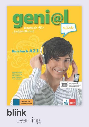 Cover geni@l klick A2.1 - Digitale Ausgabe mit LMS NP01160527401 Deutsch als Fremdsprache (DaF),Deutsch als Zweitsprache (DaZ)